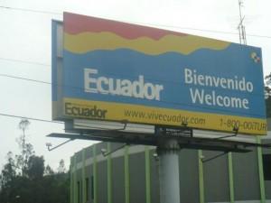 Bienvenue en Equateur