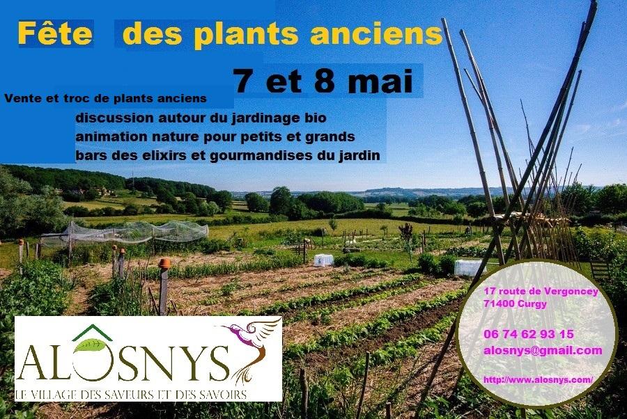 Ventre et troc de plants anciens au Alôsnys