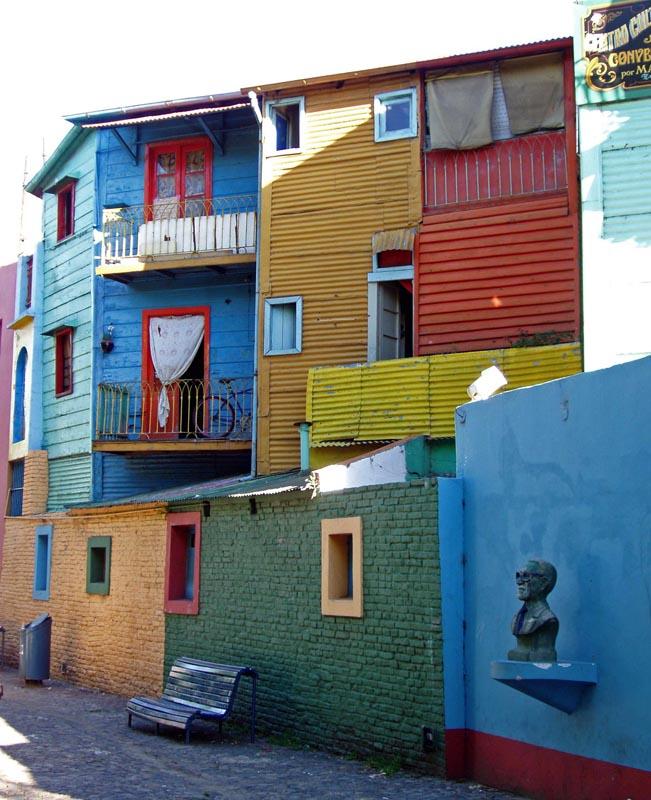 Boca le quartier touristique de Buenos Aires