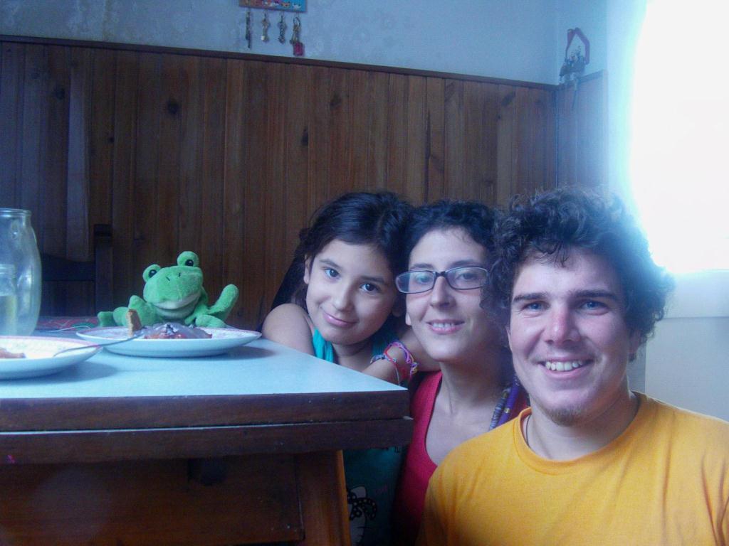 En compagnie de Chamilla et sa fille