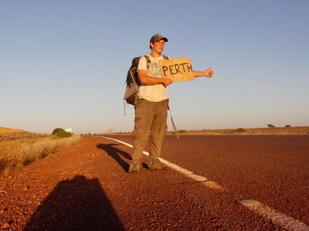 Autostop en Australie