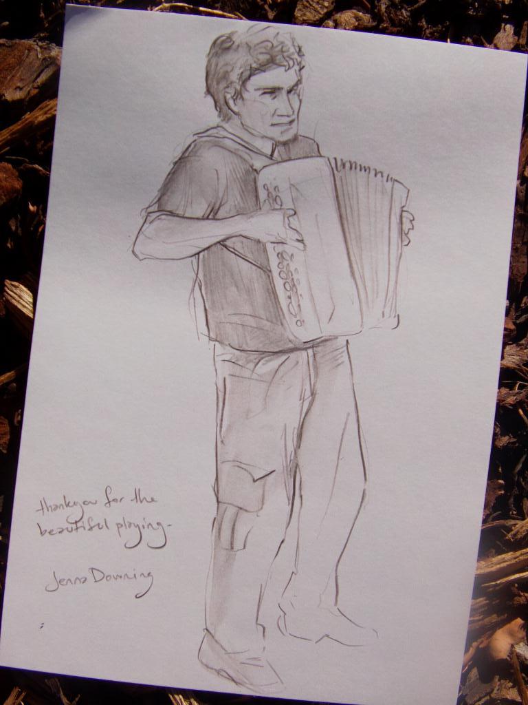Adrien et son accordeon