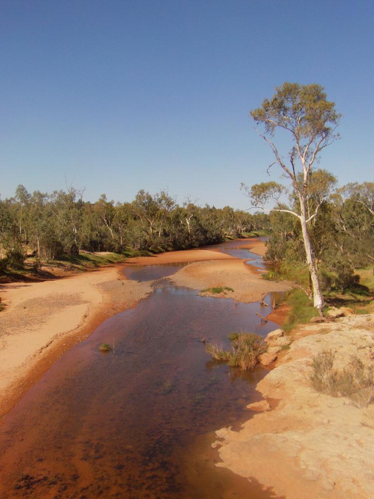 Riviere au sud d'Alice Springs