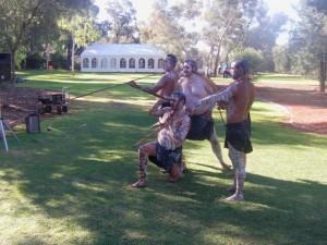 aborigene a Uluru