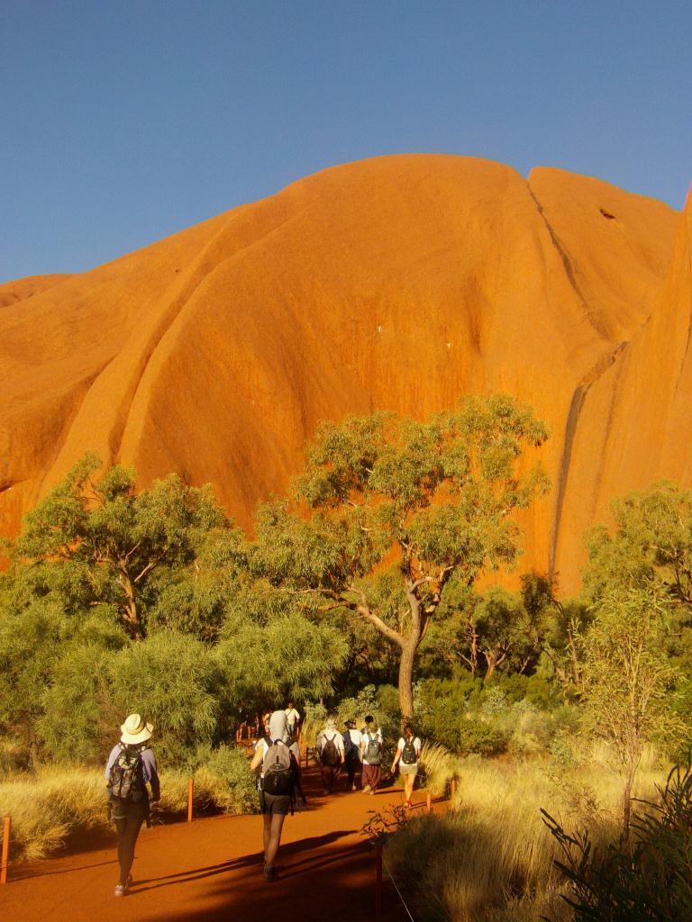 Uluru = Disneyland en Australie