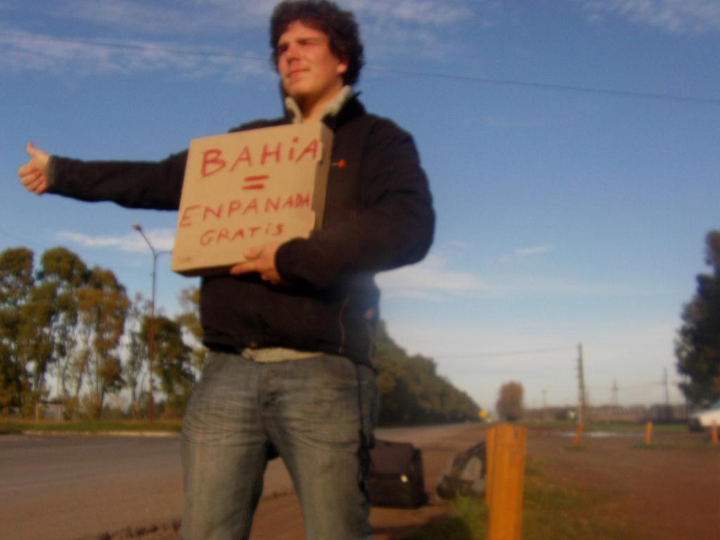 Autostop en Argentine