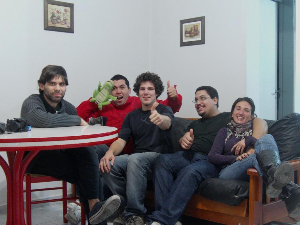 Couchsurfing en Argentine