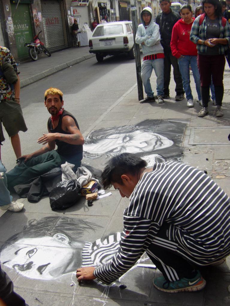 Art de rue en Bolivie