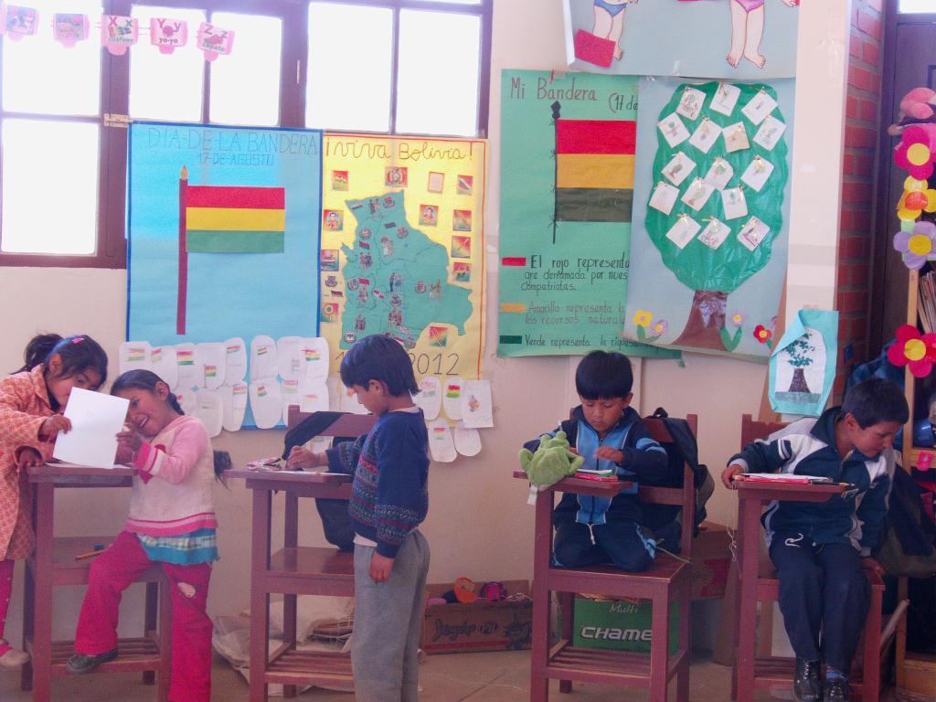 Ecole maternelle en Bolivie