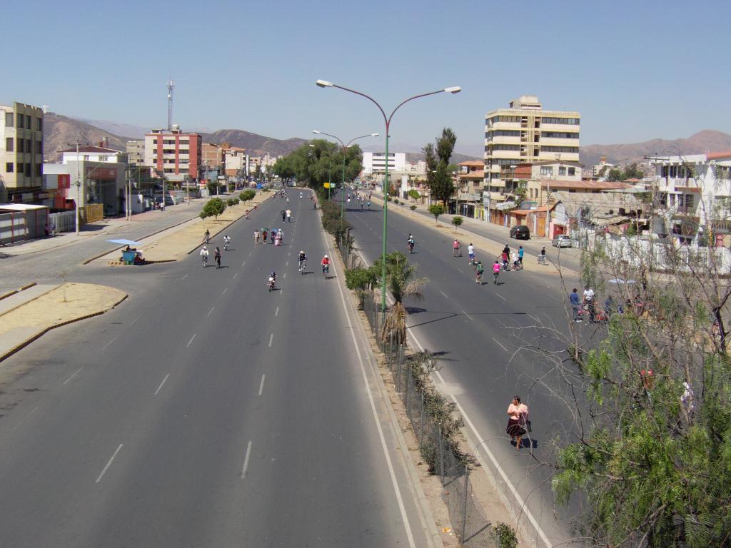 journee sans voiture a Cochabamba