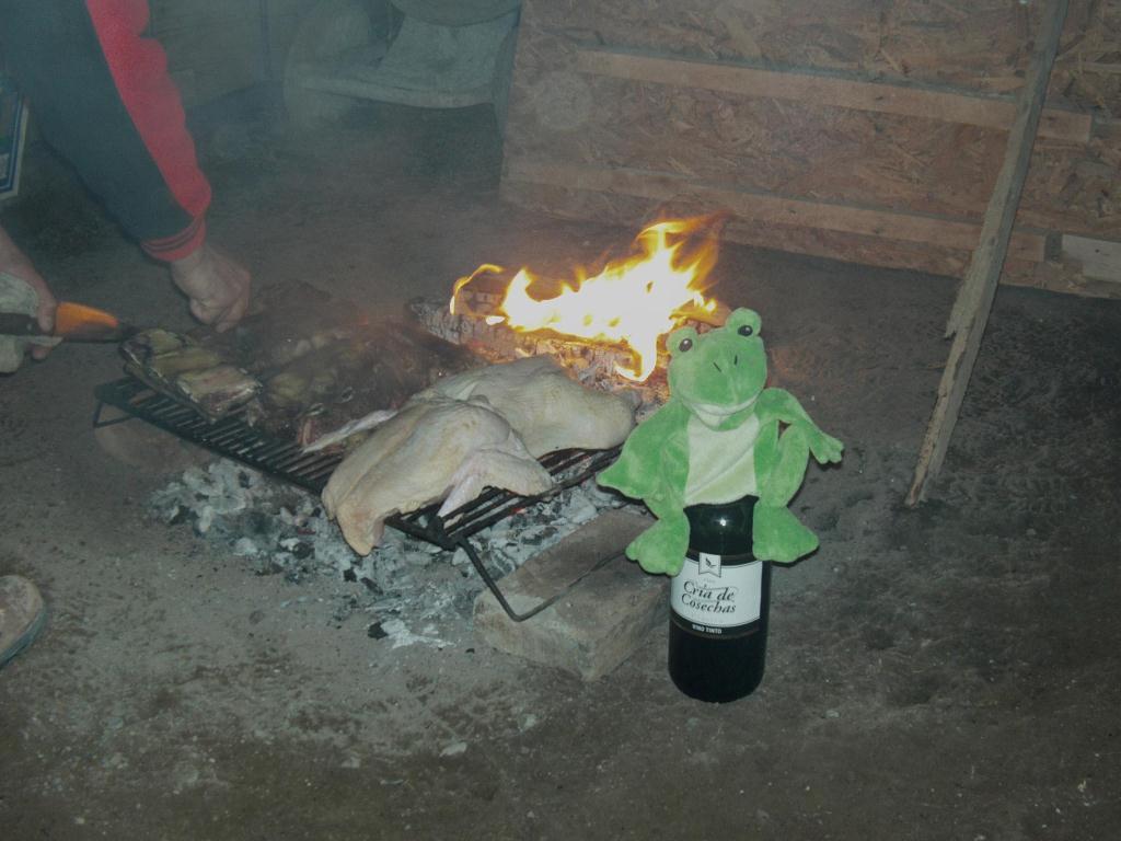 Asado en Argentine