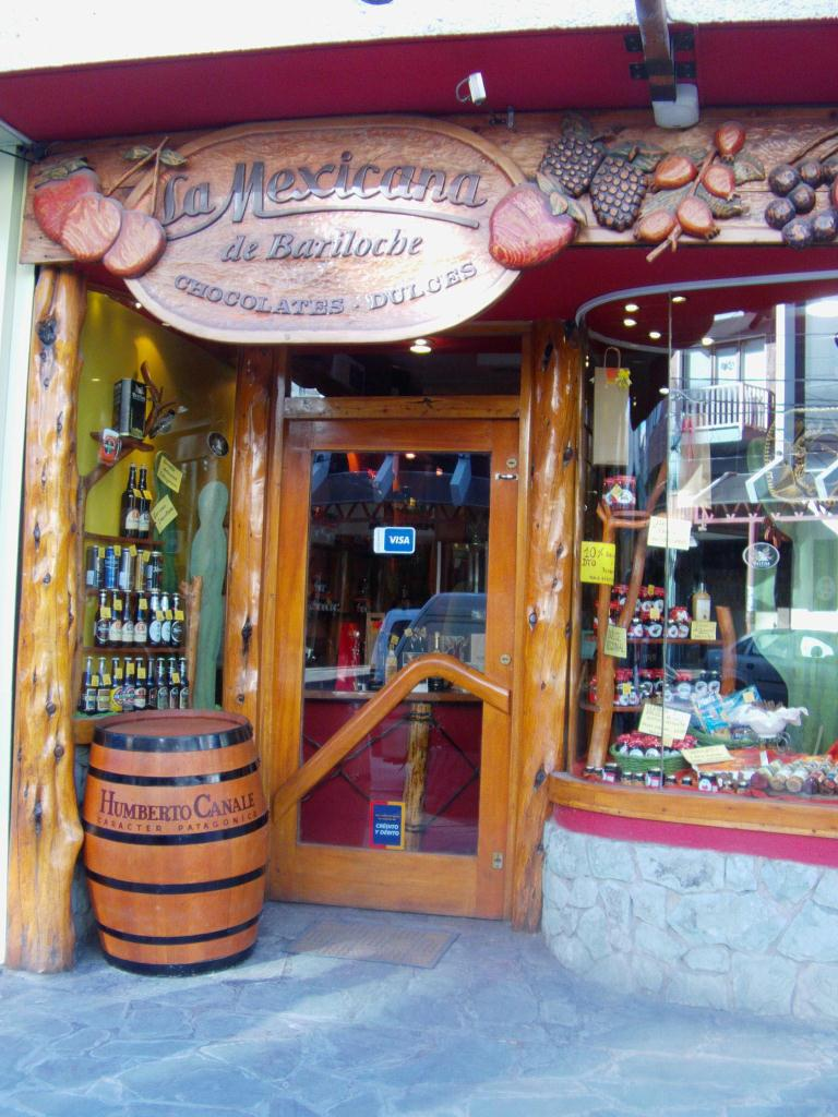 Une chocolaterie a Bariloche