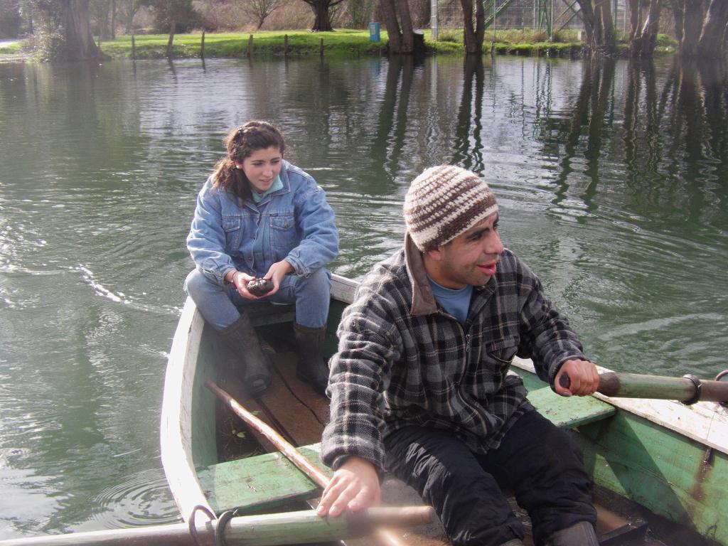 Barque au Chili