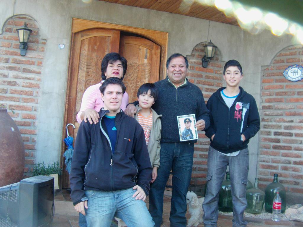 Famille du conducteur au Chili