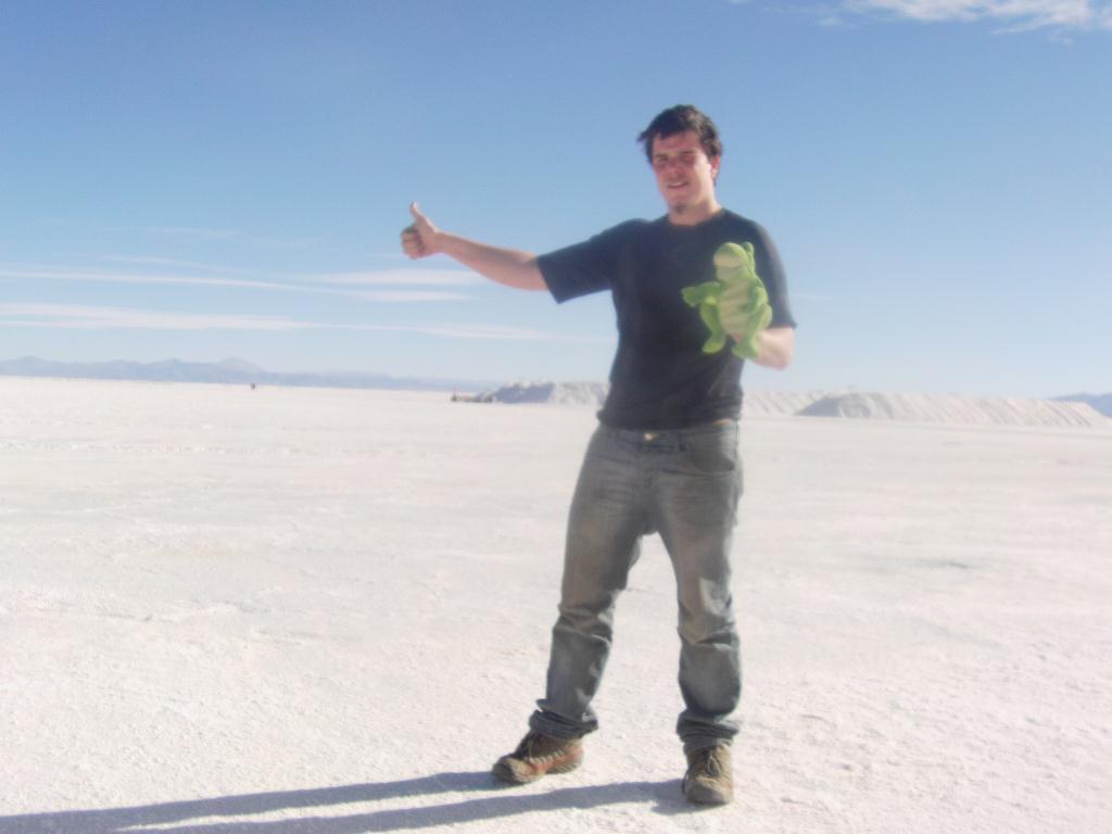 Adrien et Guizmo au desert de sel