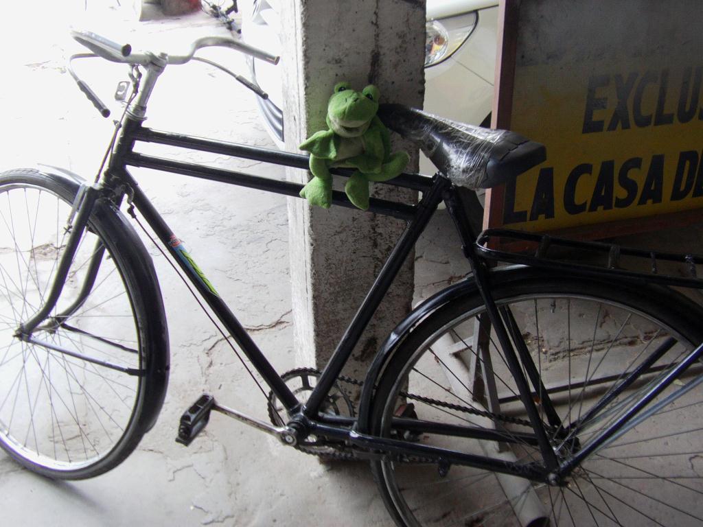 Bicyclette pour voyager en Argentine