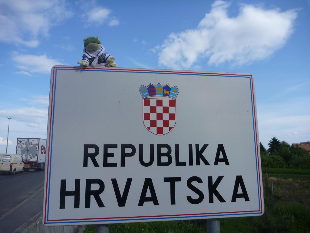 Froggy en Croatie