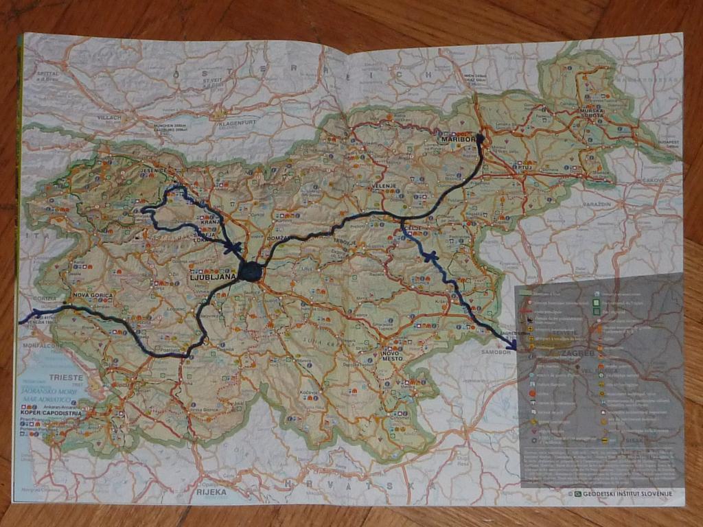 Notre parcours en Slovenie