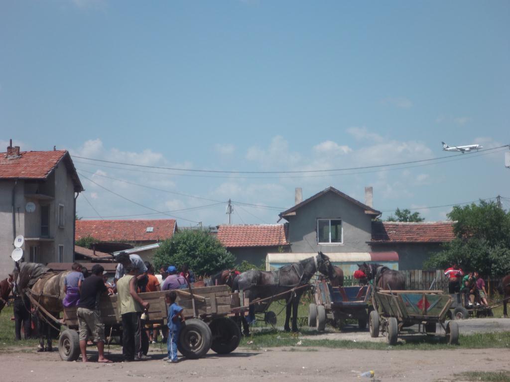 Gitans en Bulgarie