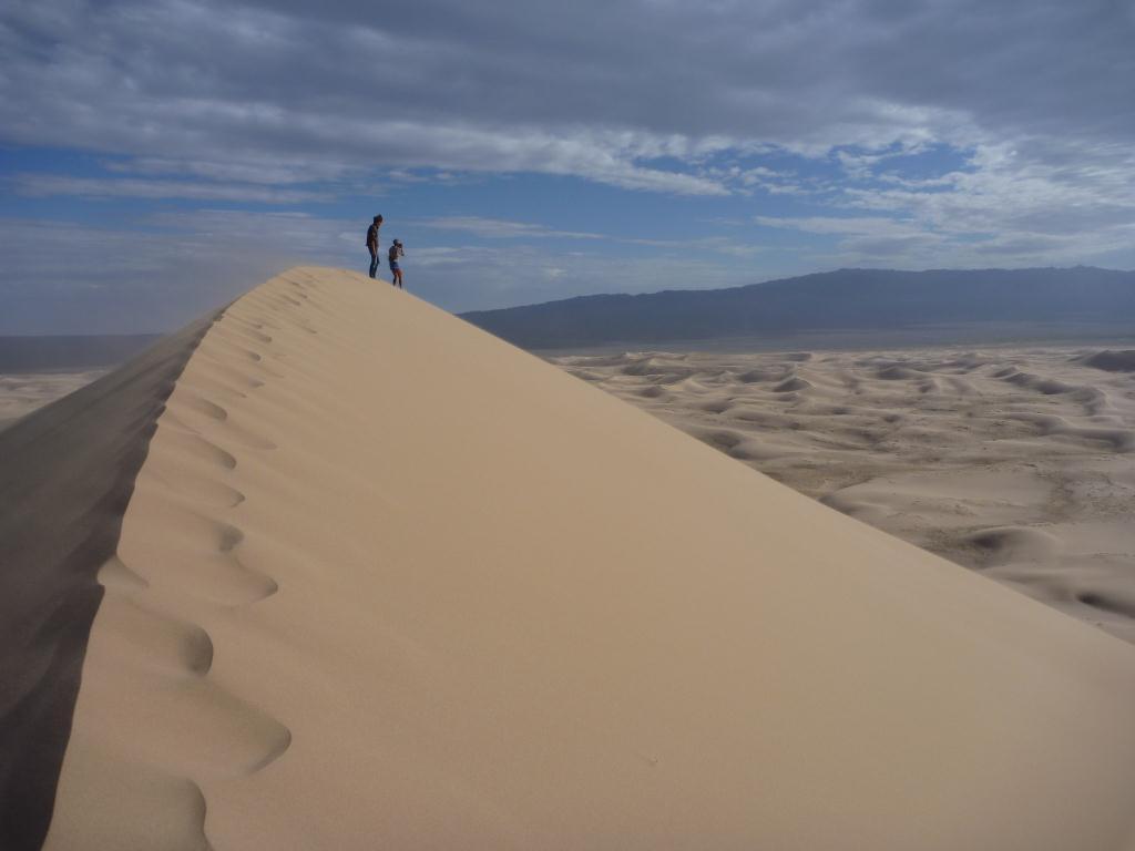 Dune de sable, Gobi
