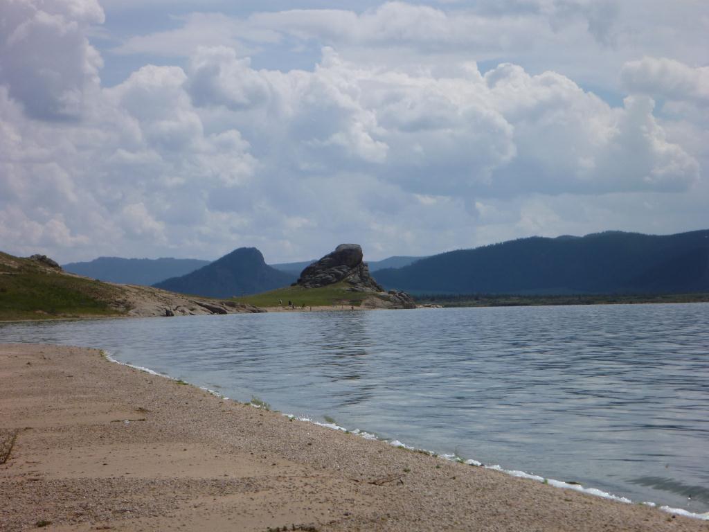 Mongolie - Lac Blanc