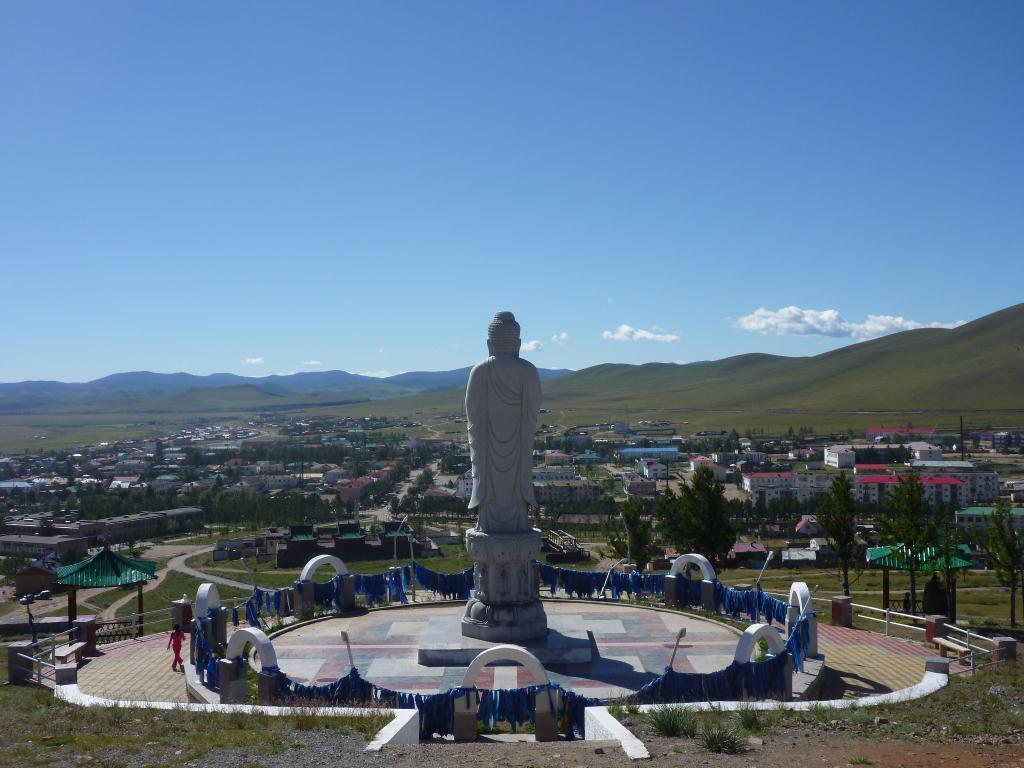 Tsetserleg - temple bouddhiste