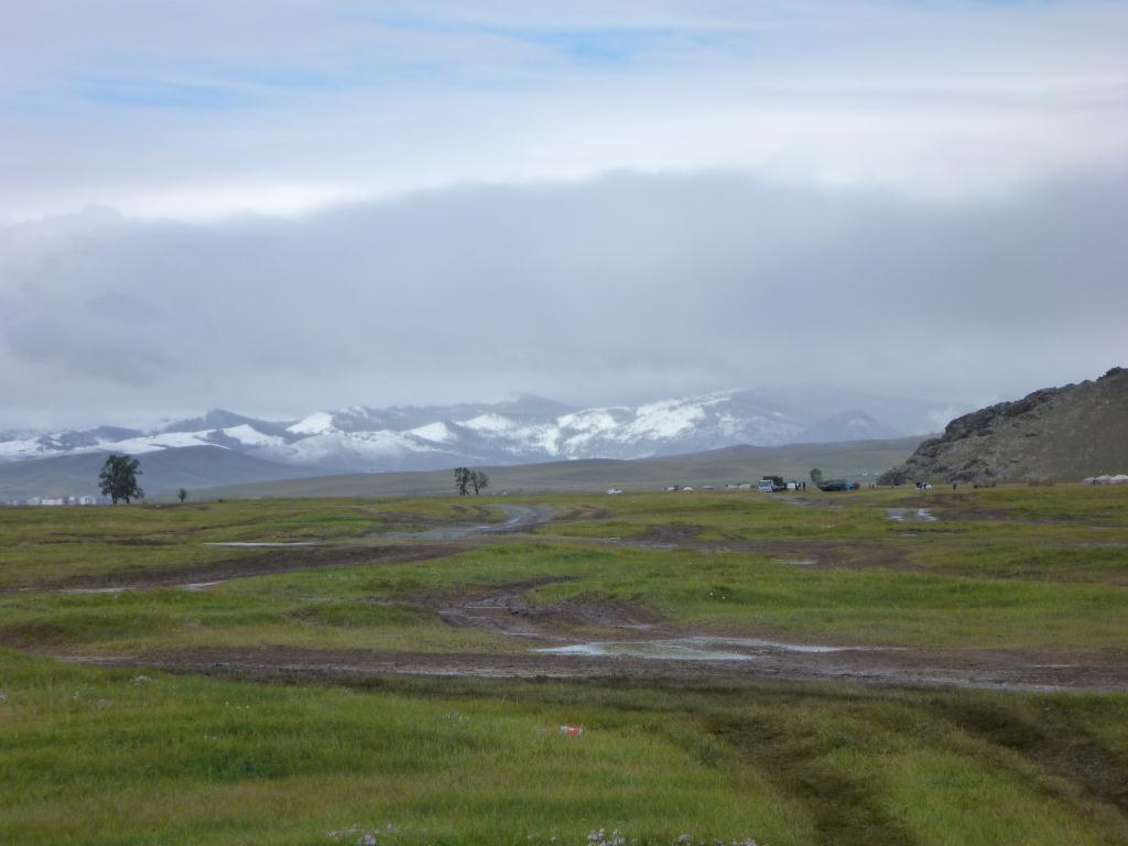 Il a neigé sur la Mongolie, au mois d'aout !