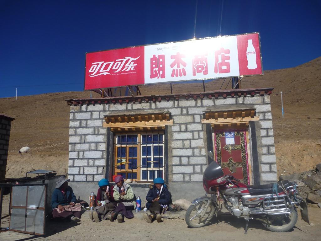 Pub Coca Cola au Tibet