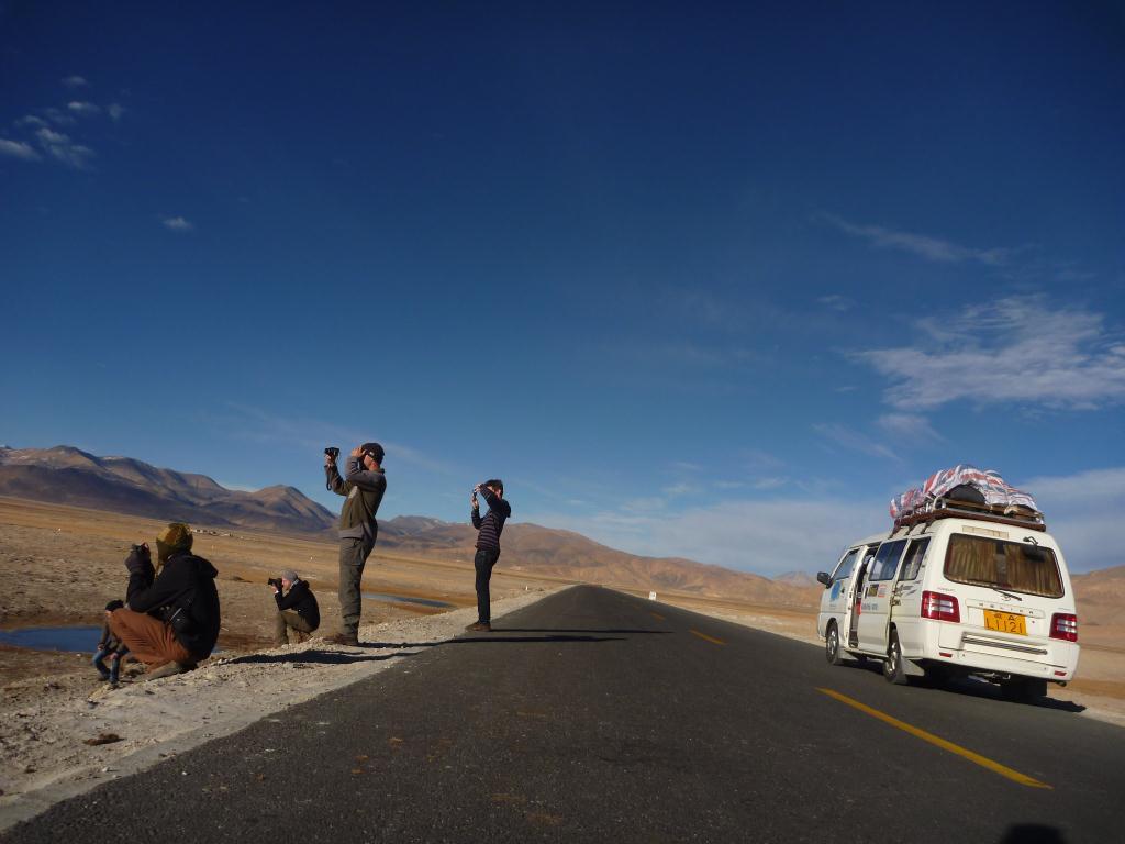 sur les routes tibétaines