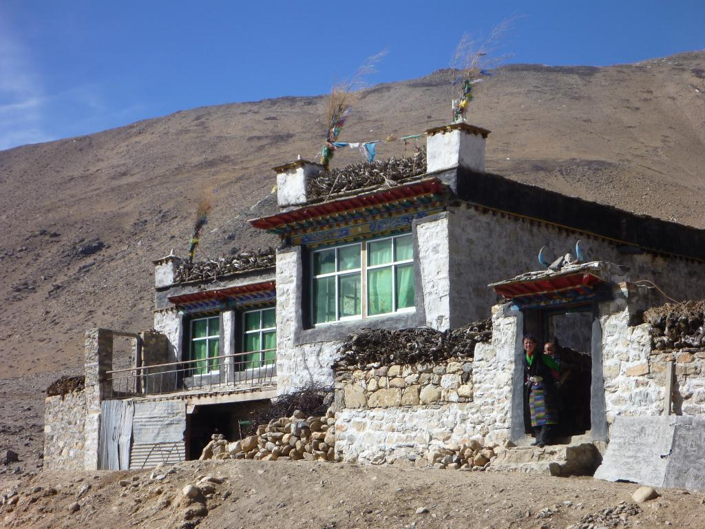 Maisons Tibétaines