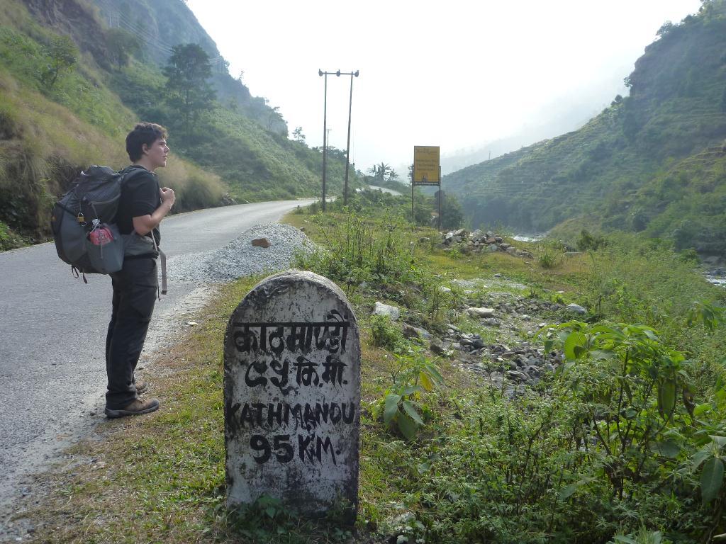 En route pour Katmandou !