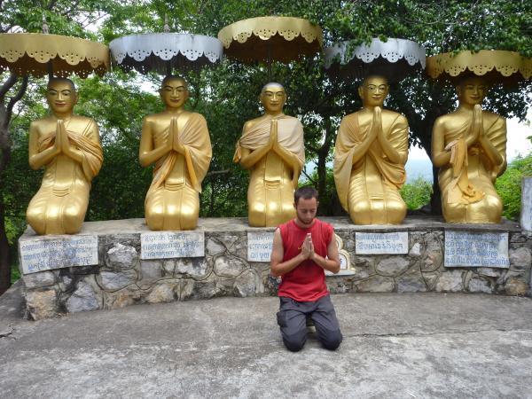 P1100285 - Phnom Sampeou, Bouddha