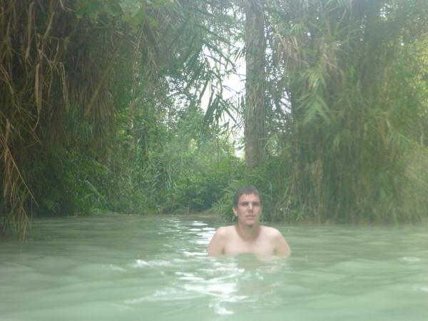 Adrien au milieu des bambous