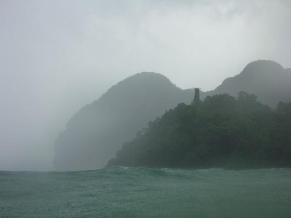 P1110225 thailande ile ko muk mousson pluie tempete
