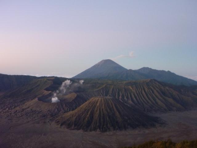 les volcans de Bromo
