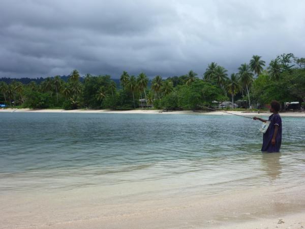 Les plages à Vanimo