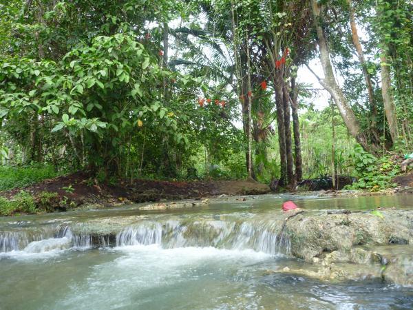 La rivière pour se doucher, faire la vaisselle ou la lessive