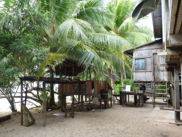 Les maisons en Papouasie