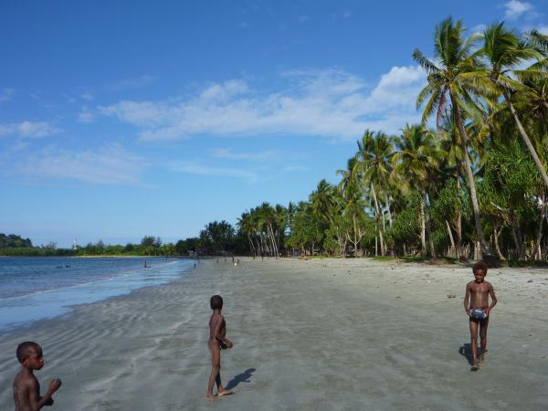 Les plages en Papouasie Nouvelle Guinée