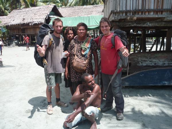 Notre famille en Papouasie Nouvelle Guinée