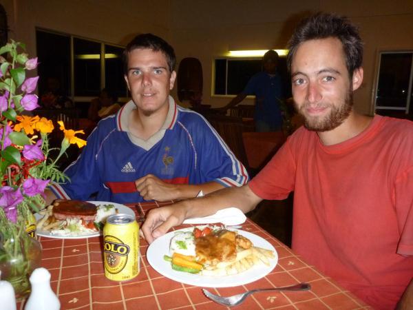 Restaurant en Papouasie