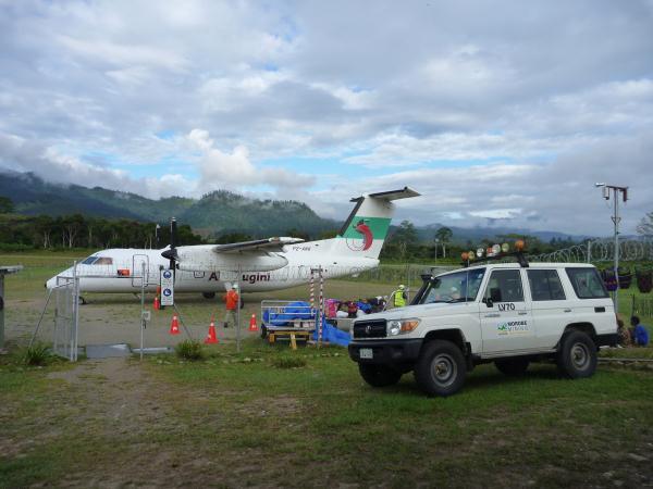 L'aéroport de Bulolo