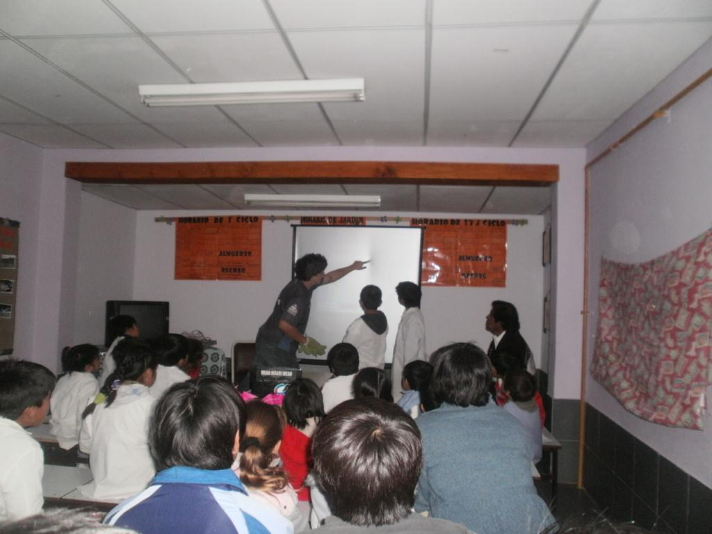 Presentation a l aide de mon pico-projecteur