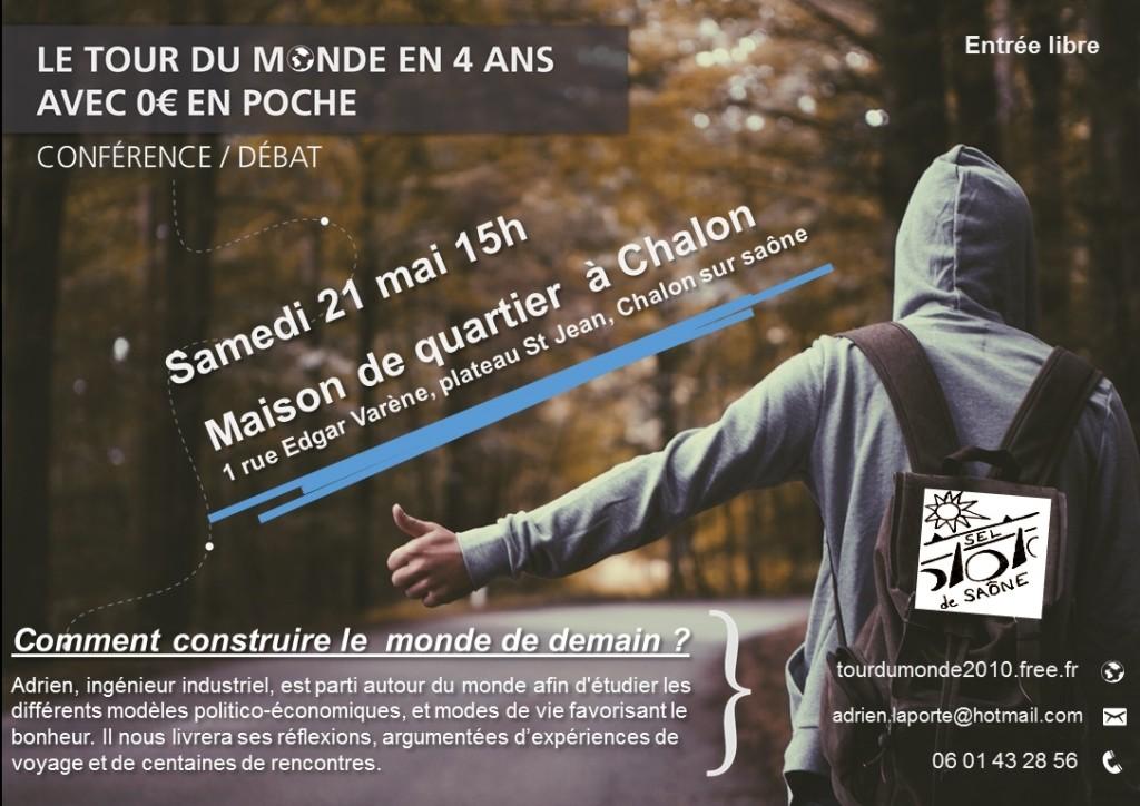 Conférence avec le SEL de Saône à Chalon