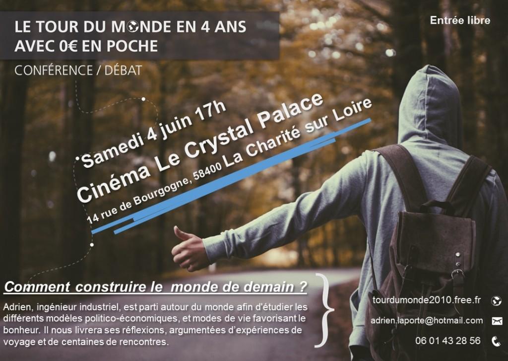 Conférence avec le SEL de Clamecy à Charité sur Loire (58)