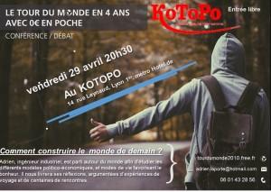 conférence tour du monde à Lyon