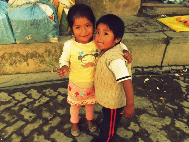 Enfants à Sorata