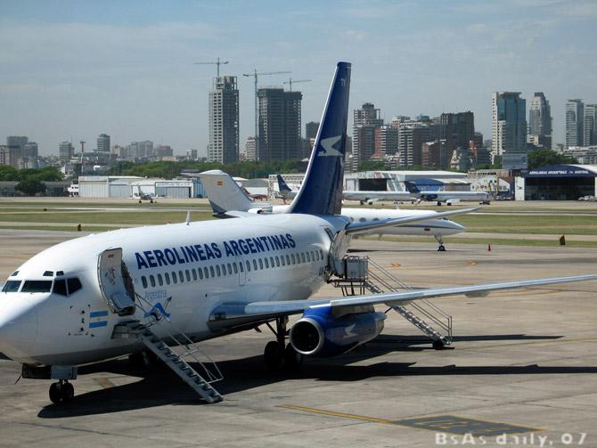 avion australie argentine