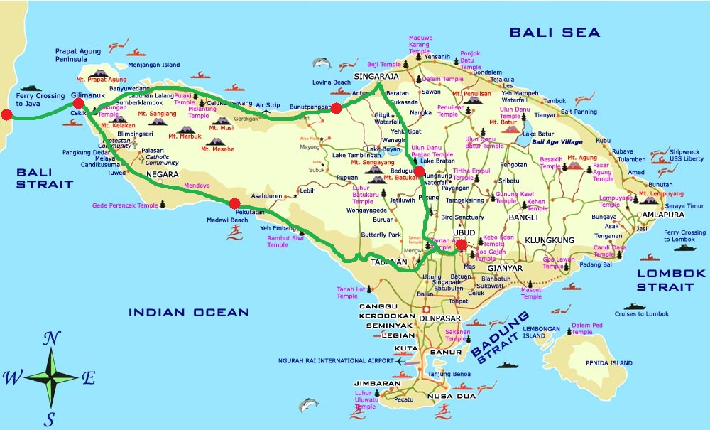 bali_map_itinéraire