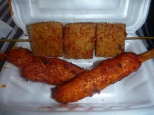 Brochette de Tofu (carré)